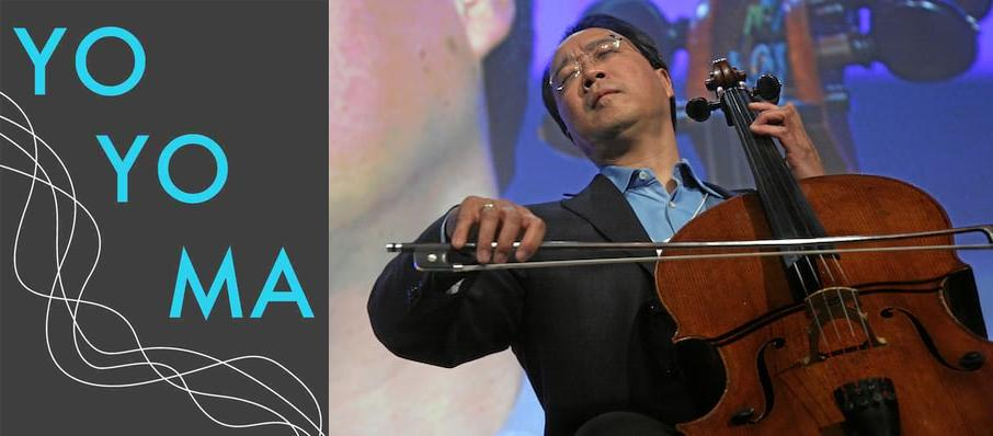 Yo-Yo Ma at Bob Carr Theater at Dr Phillips Center