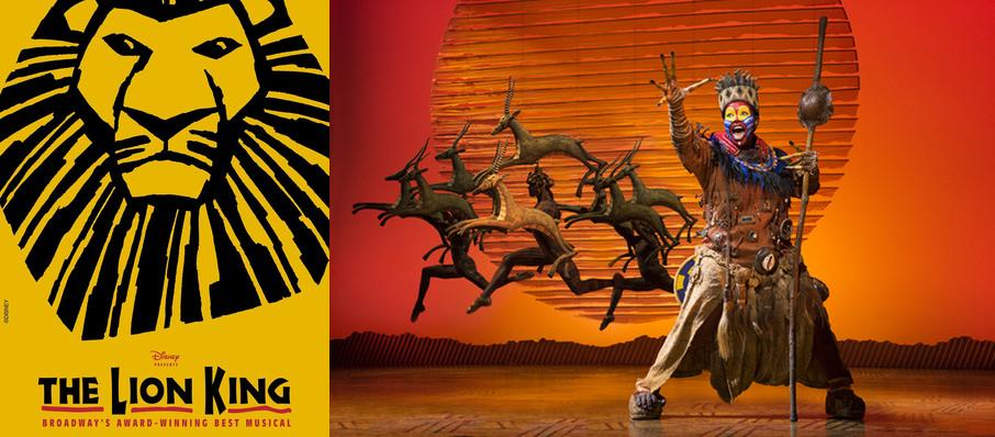 The Lion King at Walt Disney Theater