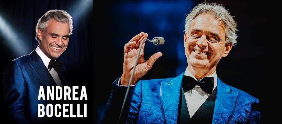 Andrea Bocelli at Amway Center