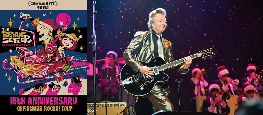 Brian Setzer Orchestra: Christmas Rocks at Hard Rock Live