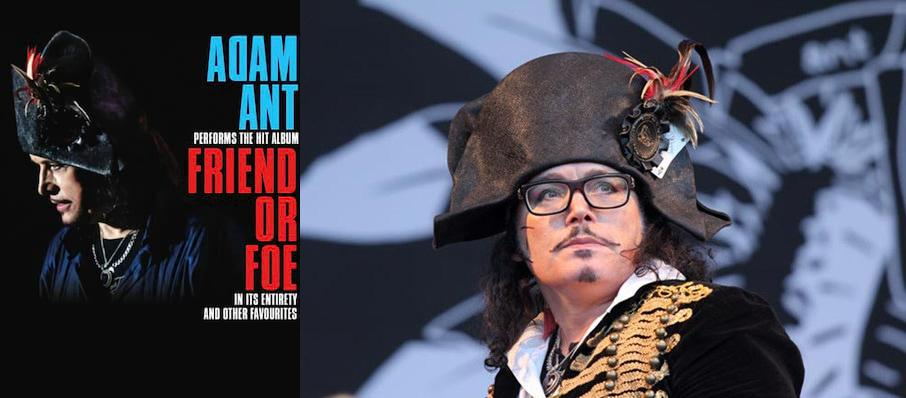 Adam Ant at The Beacham