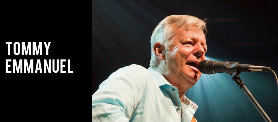 Tommy Emmanuel at Plaza Theatre