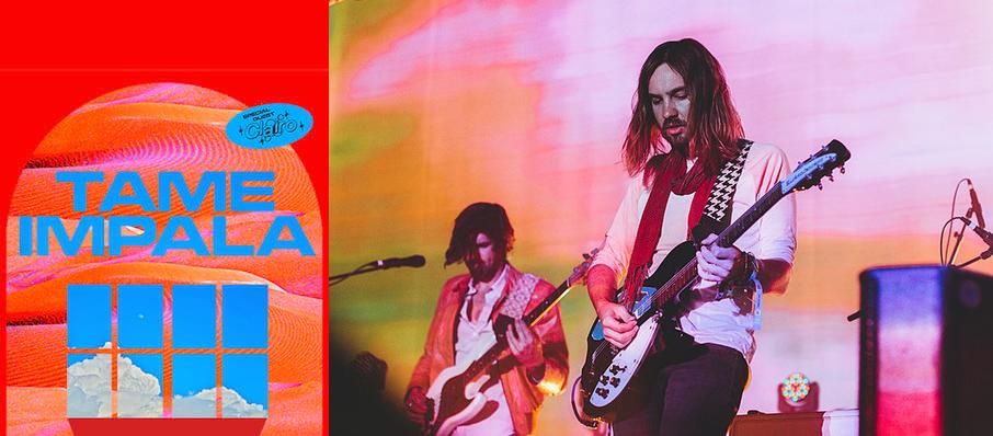 Tame Impala at Amway Center