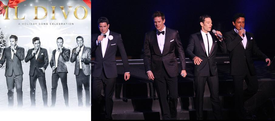Il Divo at Bob Carr Theater at Dr Phillips Center