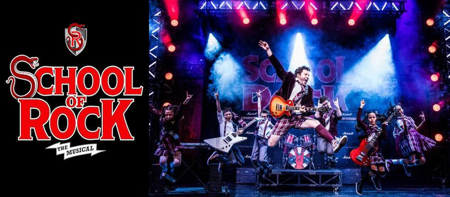 School of Rock at Walt Disney Theater