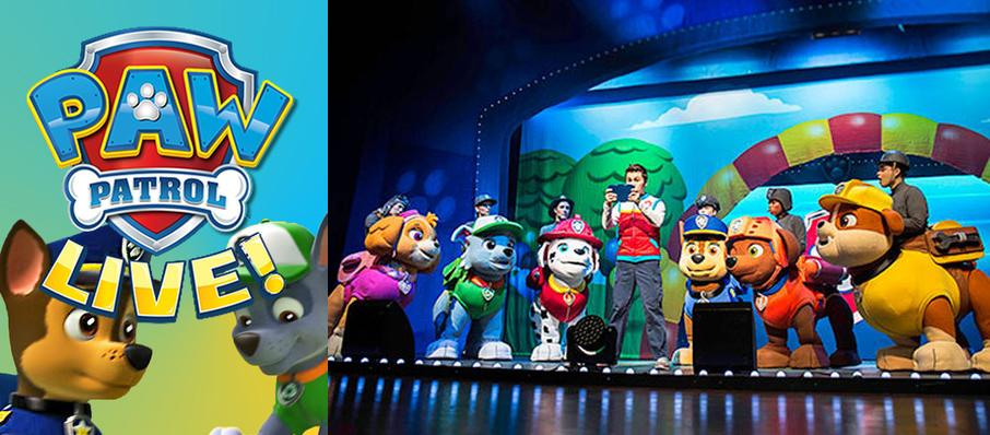Paw Patrol at Walt Disney Theater