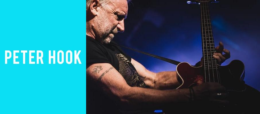 Peter Hook at Plaza Theatre