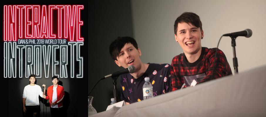 Dan and Phil at Walt Disney Theater