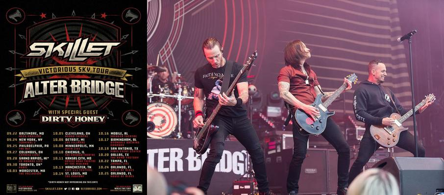 Alter Bridge and Skillet at House of Blues