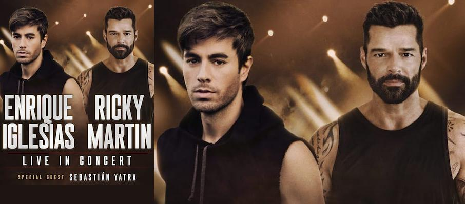 Enrique Iglesias and Ricky Martin at Amway Center