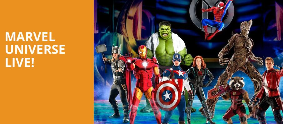 Marvel Universe Live, Amway Center, Orlando