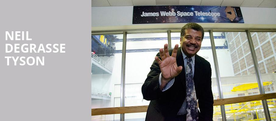 Neil DeGrasse Tyson, Bob Carr Performing Arts Centre, Orlando