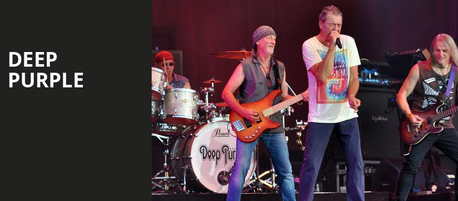 Deep Purple, Walt Disney Theater, Orlando