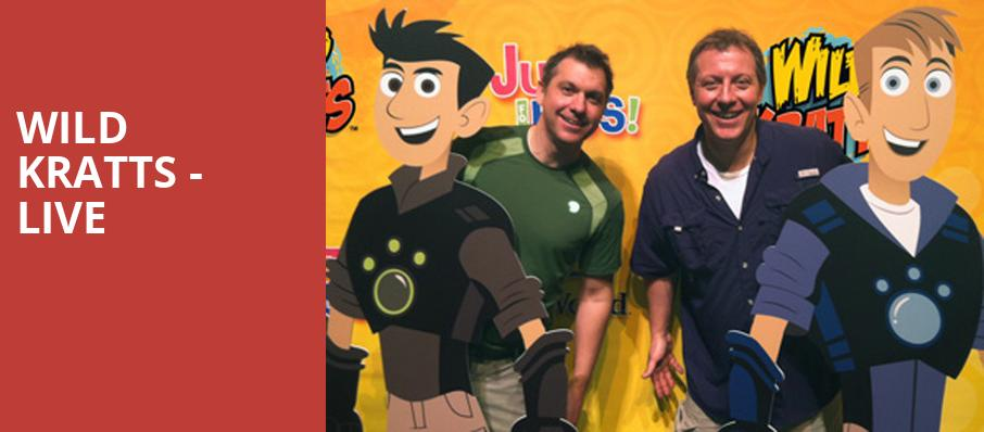Wild Kratts Live, Bob Carr Theater at Dr Phillips Center, Orlando