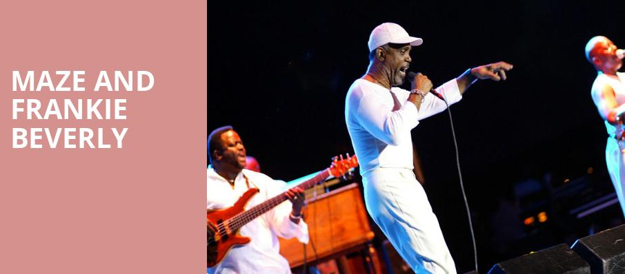 Maze and Frankie Beverly, Hard Rock Live, Orlando