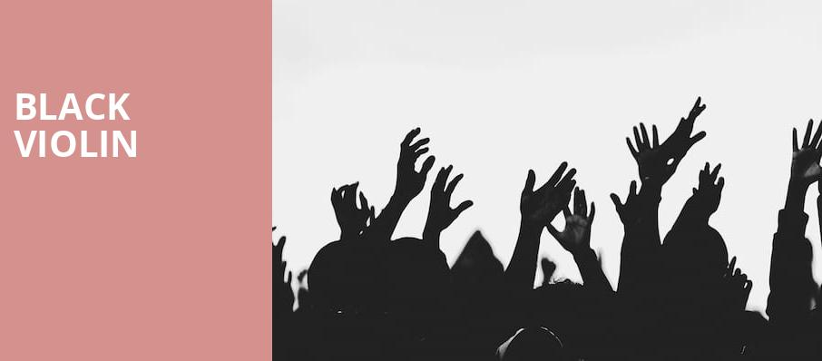Black Violin, Bob Carr Theater at Dr Phillips Center, Orlando