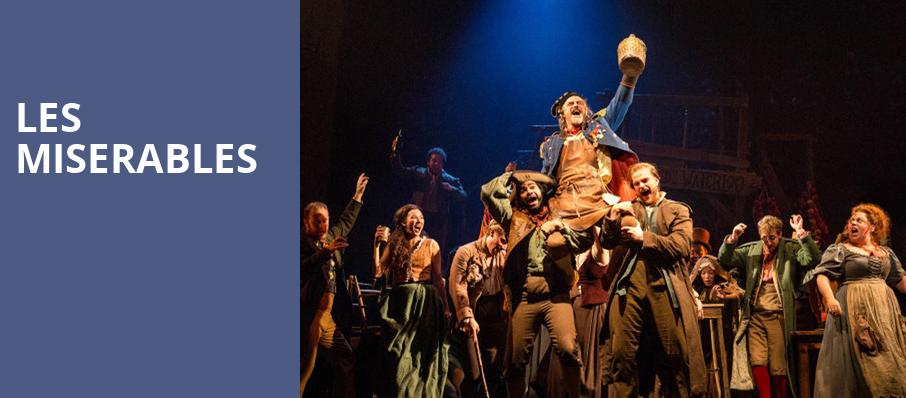Les Miserables, Walt Disney Theater, Orlando