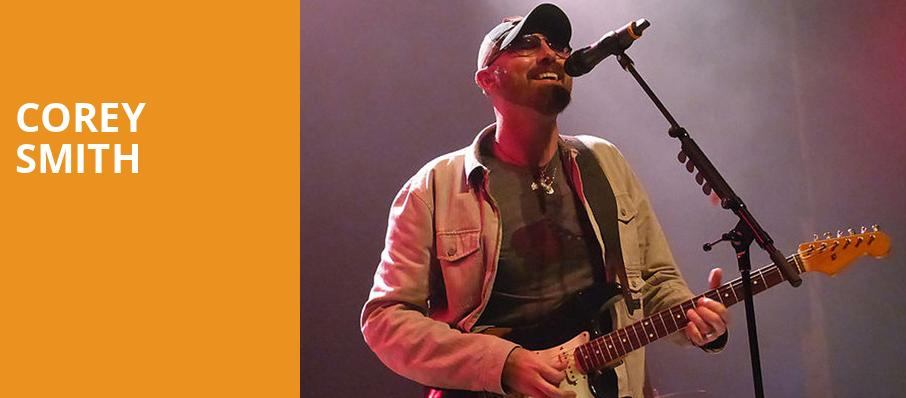 Corey Smith, House of Blues, Orlando