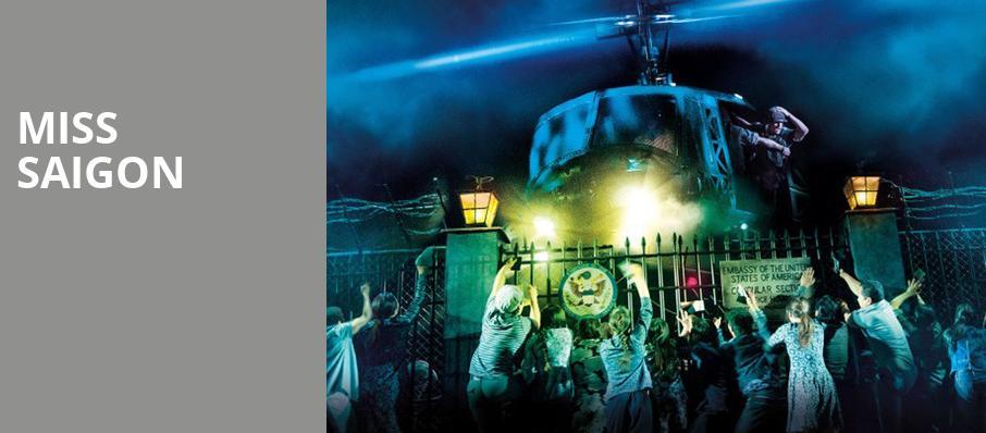 Miss Saigon Walt Disney Theater Orlando Fl Tickets