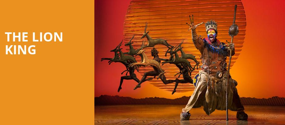 The Lion King, Walt Disney Theater, Orlando