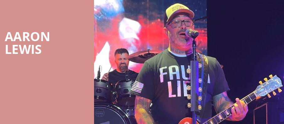Aaron Lewis, House of Blues, Orlando