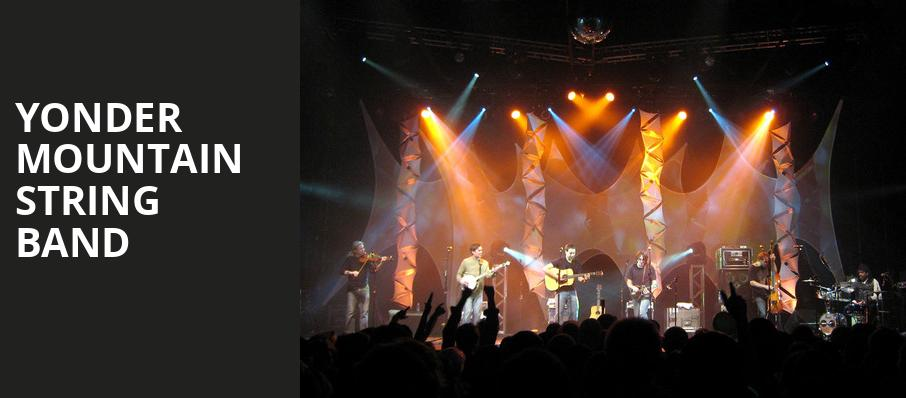 Yonder Mountain String Band, Plaza Theatre, Orlando