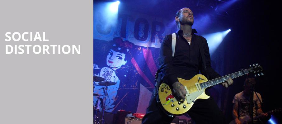 Social Distortion, House of Blues, Orlando