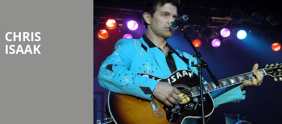 Chris Isaak, Hard Rock Live, Orlando