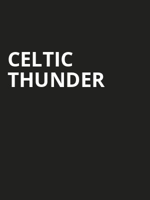 Celtic Thunder Poster