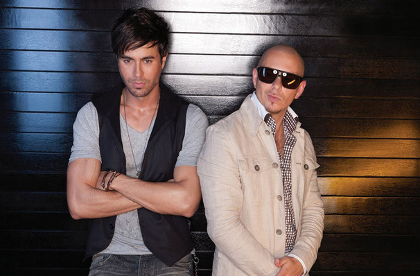 Catch Enrique Iglesias & Pitbull it's not here long!